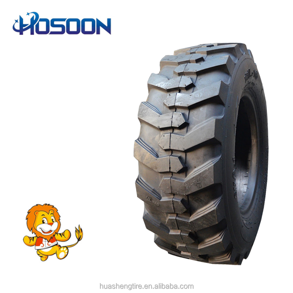 cheap chinese tires tractor tire 15-19.5 skid steer tires 12x16.5