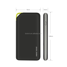 Gift item dropshipping super slim credit card power bank 10000mah outdoor spare parts for all mobile phones and type c phone