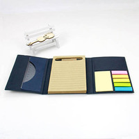 Stationery Eco Friendly Recycled Note Pad, Custom Logo Waterproof Personalized Printing A5 Sticky Notepad