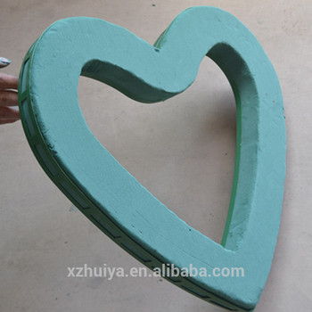 empty heart shaped foam&floral foam products &oasis floral foam