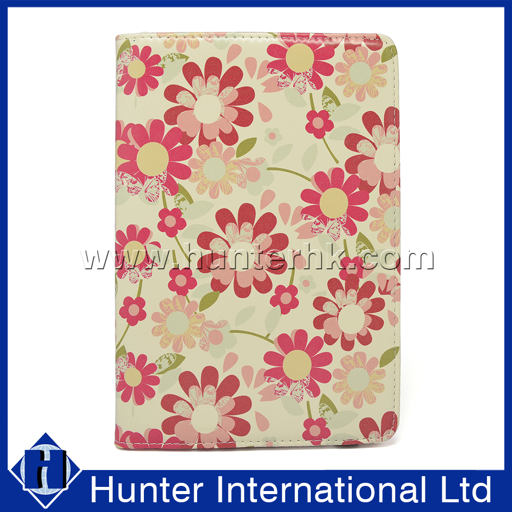 Customized Printed Flower Tablet Case For iPad Mini 4