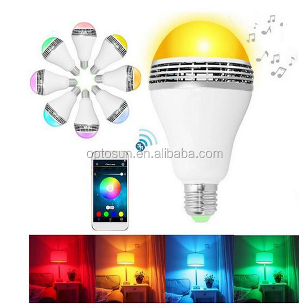 Mi Light 2.4ghz Colorful Wireless Rgb White Smart Ledlight Bulb With Wireless Color/Brightness/Temperature Led Speaker Bulb