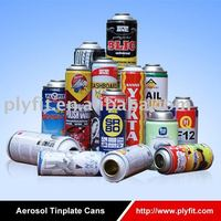 empty Aerosol Tinplate & Aluminium Can