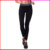 2016 Custom Black Womens Girls Wearing Wholesale Fabric Sexy Sports Yoga Pants
