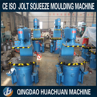 Foundry flask 550x450x250mm Z145W Jolt squeeze compaction molding machine