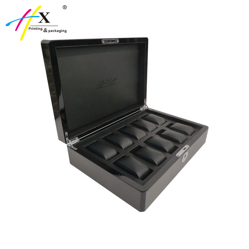 High Glossy Lacquer Wood Watch Boxes Wholesale In Guangzhou