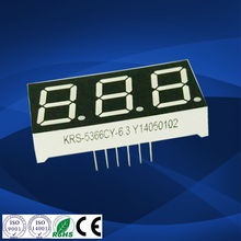 KeRun Semi-outdoor and indoor white 0.56 inch 3 digit led counter 7 segment led number display for taxi