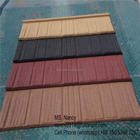 shingle Stone coated steel roof tiles