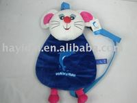 plush animal backpack ,plush and stuffed mouse,rat