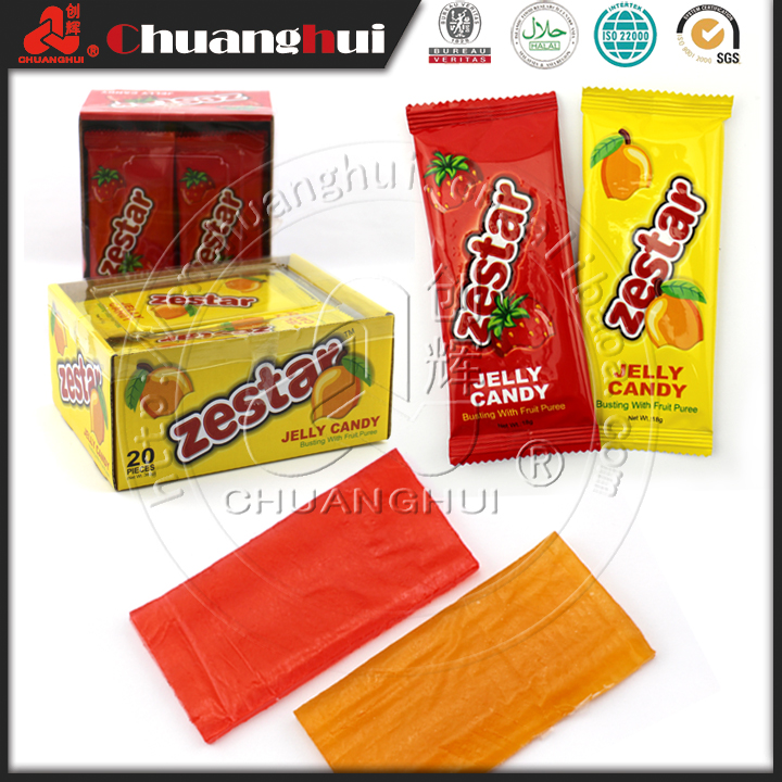 14g Hot Sell Fruity Jelly Soft Candy