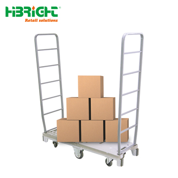 U-Boat Steel Stock Carts with Removable Handles