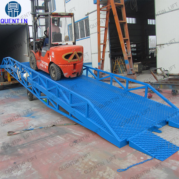 6T yard ramp manual container ramp for sale