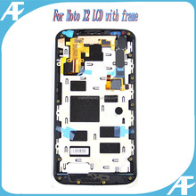 Test one by one original display for moto x2 xt1096 xt1097 lcd