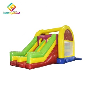 2018 hot selling commercial kids playground party toys bounce house jumping air bouncy castle slide jumper inflatable combo