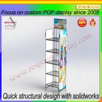 Customized nut display stand