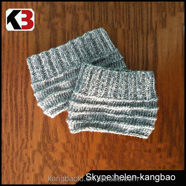 Easy Knit Boot Cuffs