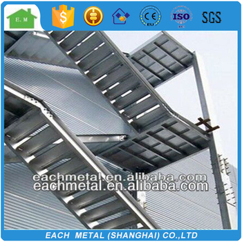 outdoor steel structure stairs