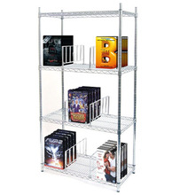 NSF & ISO Cert home metal display wire shelving book shelf