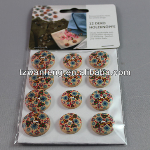 wooden buttons wholesale bulk covered buttons for scrapbook decorations
