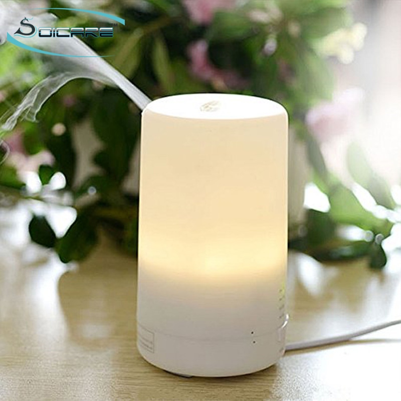 50ml mini ultrasonic warm mist essential oil diffuser car air humidifer