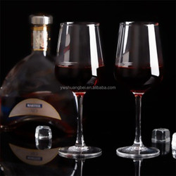 European crystal goblet/cocktail glass/wineglass , Red Wine Glass Goblet , cheap glass goblet