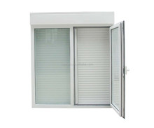 aluminium window shutter, mosquito screen and glass window/monoblock window