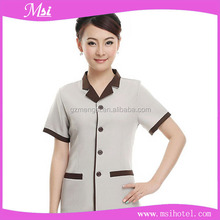 High quality wholesale cheap cleaning staff uniform