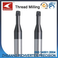 Richvertex Special Tool Serie Tungsten Carbide Thread Milling Cutter