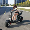 new 60V 1000W fat tire electric motorcycle scooter city coco with lithium battery