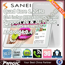 Brand quad core 3G calling android tablet with 5mp camera