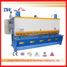 "High Speed ""SLMT"" CNC Hydraulic Guillotine Metal Plate Shearing Machine QC11K with Pendulum"