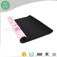 6mm Tpe Yoga mat manufacturer customize hello kitty yoga mat with carrier bag