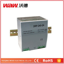 110v/220v ac to dc DRP-240-24 240W 24V 10A Din Rail Power Supply