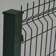 60mm square post yard guard welded wire mesh panel with clips