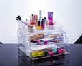 Fashionable Multi-Function Plastic Cosmetic&Jewelry Storage Box Makeup Organizer