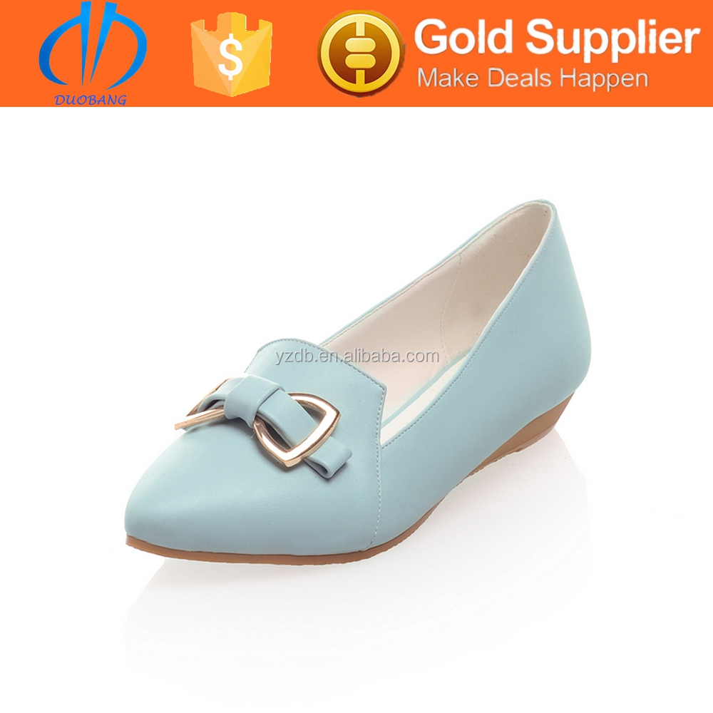 classic high quality woman genuin leather shoe