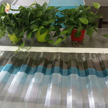 Clear corrugated plastic roofing sheets plastic for sheds