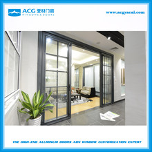 Good workmanship interior exterior glass sliding door wholesale