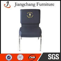 Foshan Stackable Church chair With Logo JC-E19