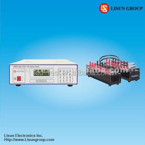 Lisun LS600 High Power LED Aging Tester measure 64pcs power LEDs products of aging and life such as 1W, 3W, 5W LED
