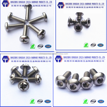 18-8 stainless steel metric screws and fasteners