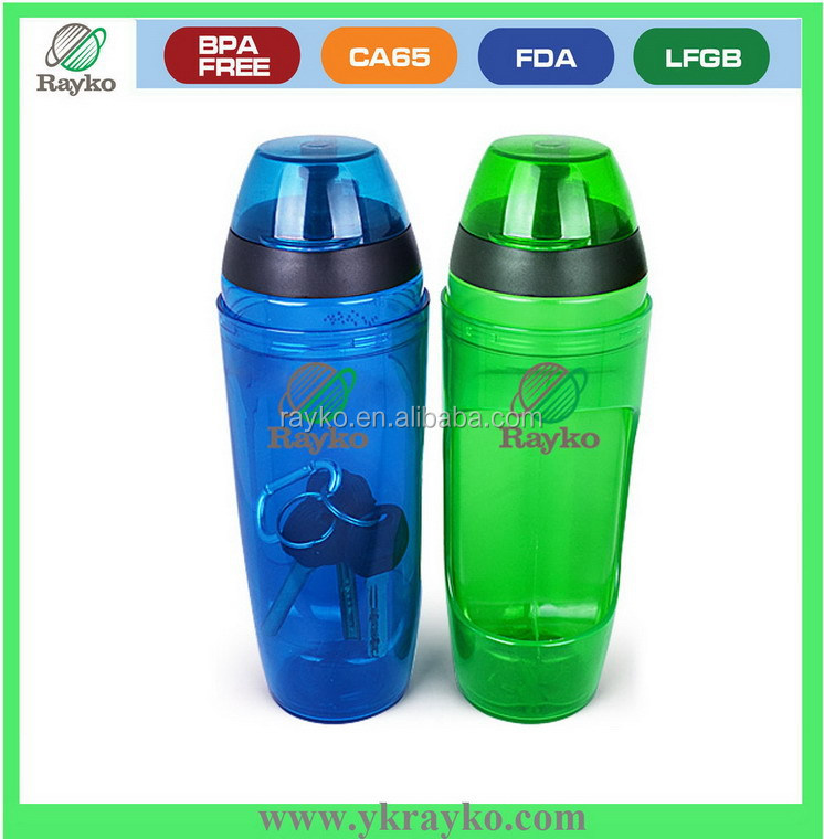 Best quality empty plastic water bottle for snacks and water drinking