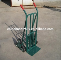 3 wheel hand truck /stair climbing hand truck with factory trolley price