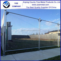 Temporary Movable Fence/Temp Movable Fencing with concrete plastic feet