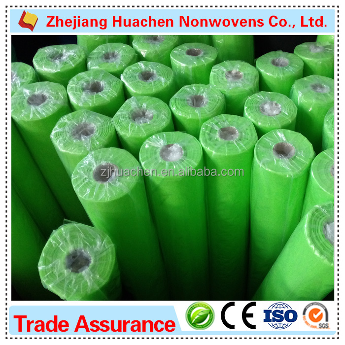 Disposable Ecofriendly 9-270gsm Spun Bonded Non Woven Fabric