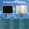 8 inch TFT LCD screen with 800x600 industrial LCD panel 1000nits brightness sunlight readable LCD module S080SV03H