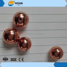 15mm and 20mm dia Copper 99.9% Purity Copper Hollow Ball