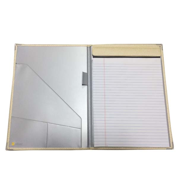 Padded Leather Meeting Folders