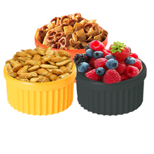Food Grade Silicone Snack Container