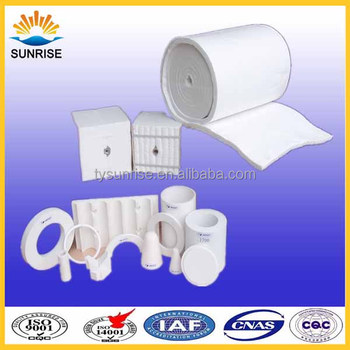 Sunrsie Refractory Ceramic Fiber Blankets for Furnace Lining Material